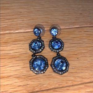 Tory Burch silver dangle earrings
